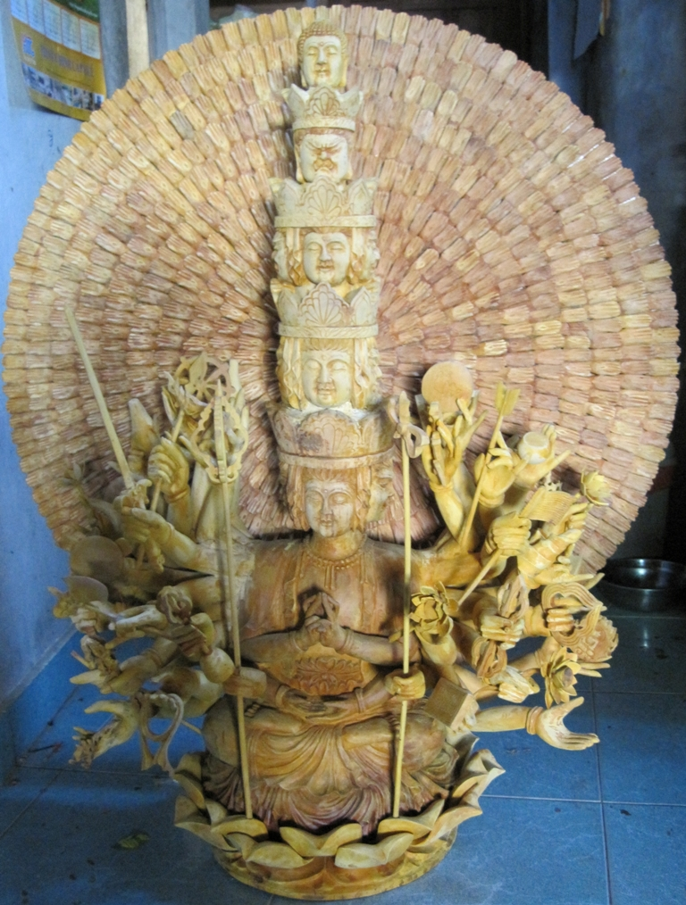 Custom Life Size Avalokiteshvara Thousand Arms God of Infinite Compassion