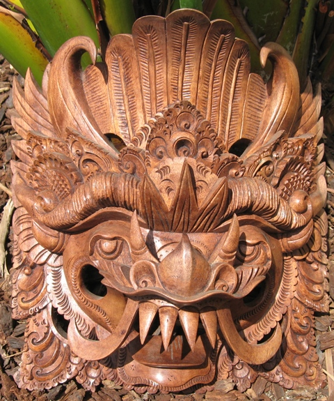 barong mask from Bali