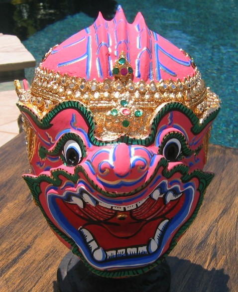 Thai Khon Mask