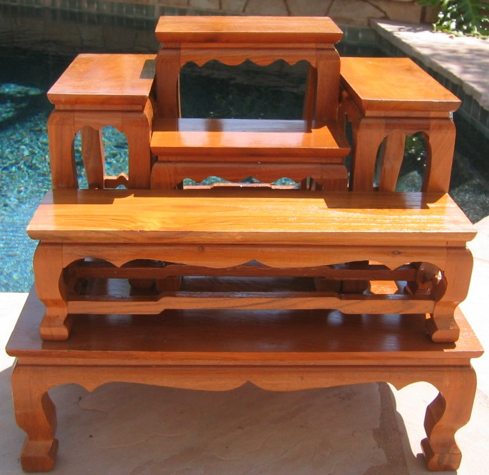Small Altar Table Set